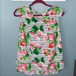Stripes/Floral top